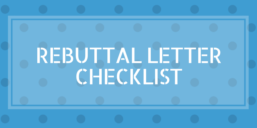 Tips on submitting a journal submission rebuttal letter