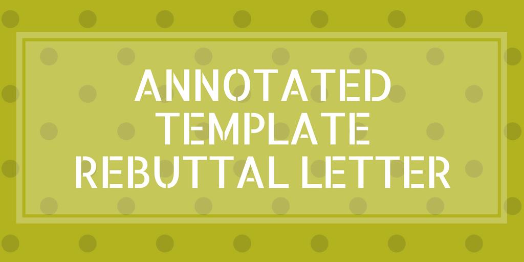 Sample Journal Rebuttal Letter
